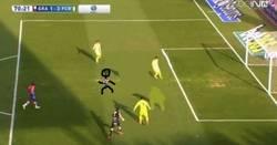 Enlace a ¡El claro fuera de juego de Messi en su gol!