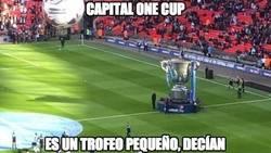 Enlace a Capital One Cup, un trofeo menor que ni Puyol podría levantar