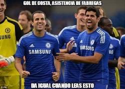 Enlace a Cesc y Diego Costa vuelven a las andadas