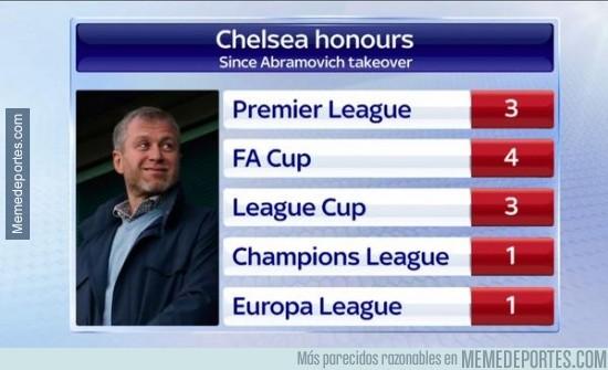 462353 - Números desde que Abramovich compró el Chelsea