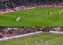 Enlace a GIF: El gran parecido entre los goles de Henderson y Cristiano Ronaldo