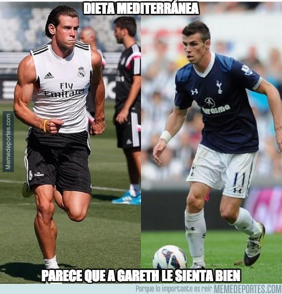 464065 - Espectacular el cambio físico de Gareth Bale