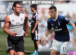 Enlace a Espectacular el cambio físico de Gareth Bale