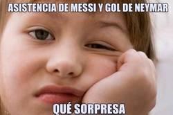 Enlace a ¡Asistencia de Messi y gol de Neymar, pero esta vez nada más empezar!