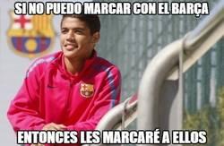 Enlace a Si no puedo marcar con el Barça...