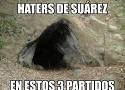 Enlace a Los haters de Suárez escondidos en la cueva