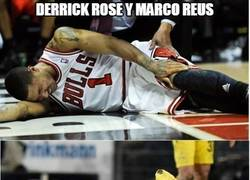 Enlace a Derrick Rose y Marco Reus