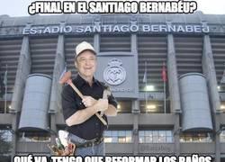 Enlace a El Bernabéu estará en reformas para la final de la Copa del Rey