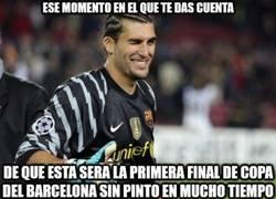 Enlace a ¿Te imaginas que Pinto era el amuleto del Barça en Copa del Rey?