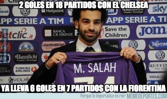 465605 - Mohamed Salah está hecho para la Serie A