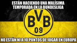 Enlace a Curiosa situación del Dortmund en la Bundesliga