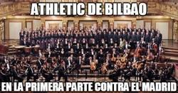 Enlace a Athletic de Bilbao, muy ordenado ante el Madrid