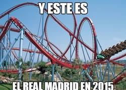 Enlace a El Real Madrid, una montaña rusa en 2015