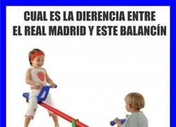 Enlace a La Dierencia entre este balancín y el Real Madrid