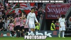 Enlace a Cristiano Ronaldo en el Athletic Bilbao - Real Madrid