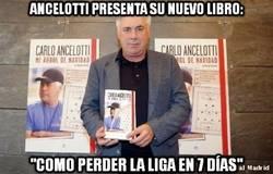 Enlace a Ancelotti presenta su nuevo libro