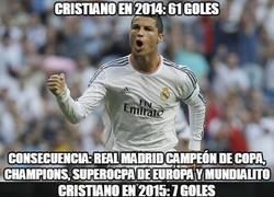 Enlace a El bajón del Madrid y el bajón de Cristiano
