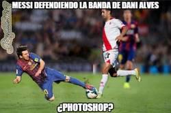 Enlace a Messi tiene que hacer su trabajo y el de Dani Alves