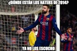 Enlace a ¿Dónde están los haters de Piqué?