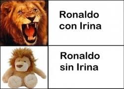 Enlace a Así ha cambiado Cristiano Ronaldo tras cortar con Irina