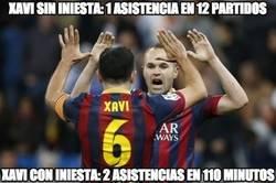 Enlace a Xavi e Iniesta, fabricados para jugar siempre juntos