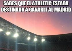 Enlace a Sabes que el Athletic estaba destinado a ganarle al Madrid