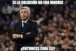Enlace a Ancelotti ya no sabe dónde mirar