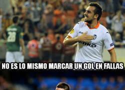 Enlace a Al Valencia se le da bien jugar en fallas