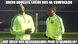 Enlace a Montoya y Douglas ya se preparan para el partido