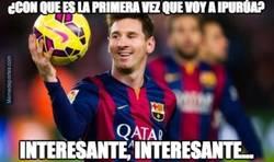 Enlace a A Messi no le gusta eso de ir a estadios nuevos sin marcar