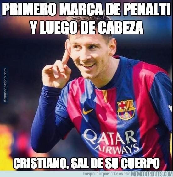 476456 - El espíritu goleador de Cristiano se ha apoderado de Messi