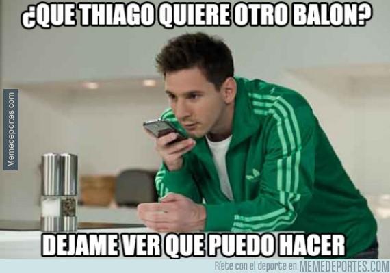 476537 - ¿Conseguirá hoy Messi otro balón para su hijo?