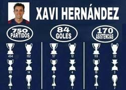 Enlace a Números de Xavi Hernández tras su partido número 750, brutal