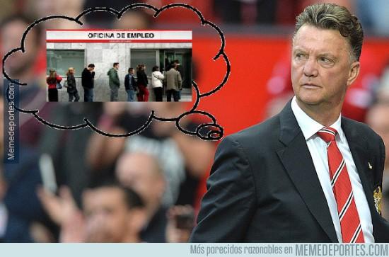 477522 - El futuro de Van Gaal si hoy no ganan al Tottenham
