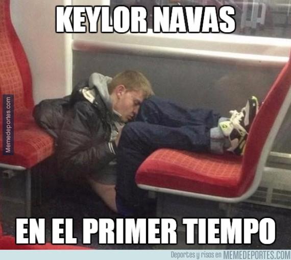 478298 - Así ha sido la ardua primera parte de Keylor Navas
