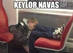 Enlace a Así ha sido la ardua primera parte de Keylor Navas