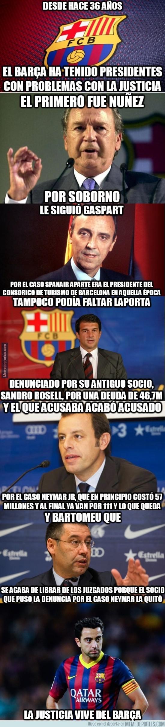 478638 - La justicia vive del Barça