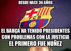 Enlace a La justicia vive del Barça