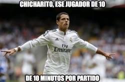 Enlace a Chicharito, ese jugador de 10