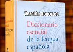 Enlace a Diccionario oficial del deporte
