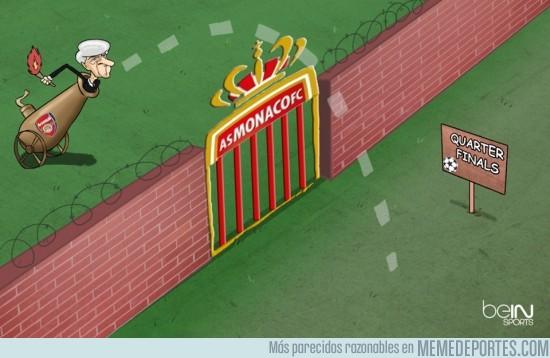 479912 - Arsène Wenger preparado para asaltar cuartos tras derribar el muro del Mónaco