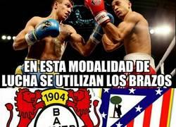 Enlace a Gran combate esta noche. Atlético de Madrid- Bayer Leverkusen.