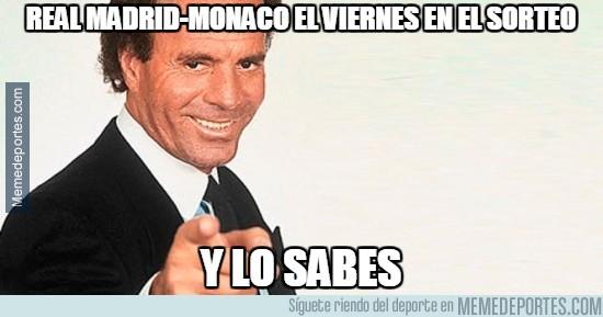480164 - Real Madrid-Mónaco el viernes en el sorteo