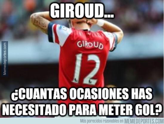 480175 - Giroud, un poco más de puntería, hombre