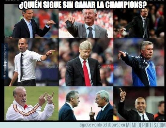 480249 - ¿Quién sigue sin ganar la Champions?