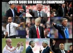 Enlace a ¿Quién sigue sin ganar la Champions?