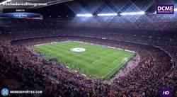 Enlace a GIF: Ambientazo de Champions en el Camp Nou