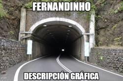 Enlace a Así ve Messi a Fernandinho