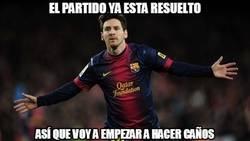 Enlace a El show de Messi