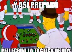 Enlace a Así preparó Pellegrini la táctica frente al Barça